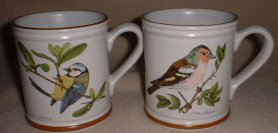 traditional mugs in collections