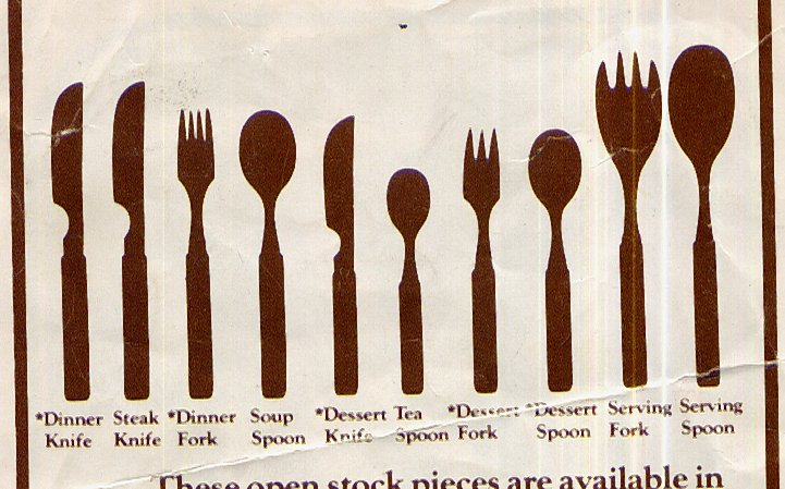 Selection From Denbys Cutlery Brochure